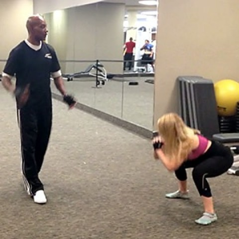 Aggressive Legs Workout with Willie Harris