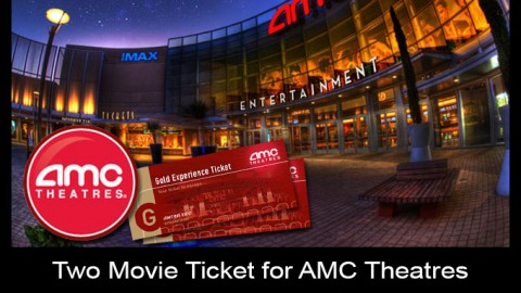 Two Movie Tickets for AMC Theatre for Auction – Closed