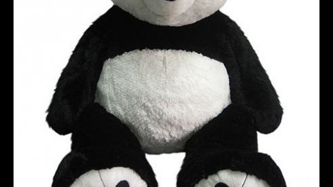 Giant 36″ Plush Panda Bear for Auction – Closed