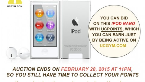 IPod Nano for Auction – Ends on February 28, 2015