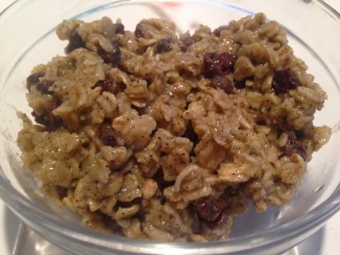 Organic Oatmeal Recipe w/ Amethyst Woodard