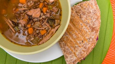 Barley Chicken Soup