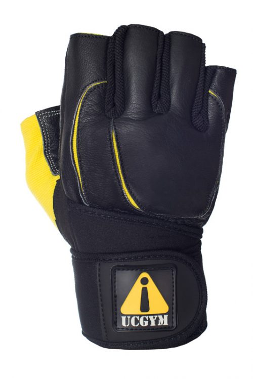 Best Lifting Gloves by UCGYM with Wrist Wraps