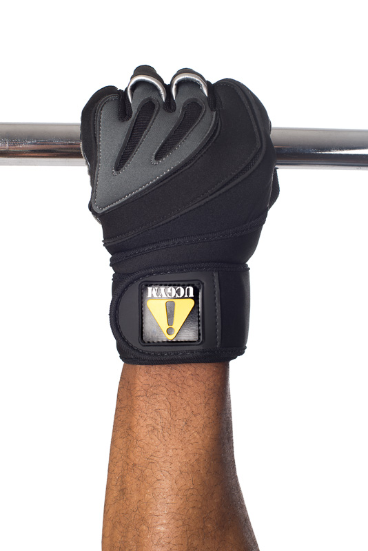 Ucgym Silverback Fitness Gloves with Wrist Wraps