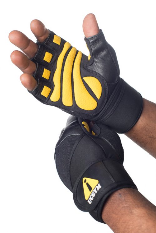 Ucgym Power Wrist Workout Gloves with Wrist Wraps