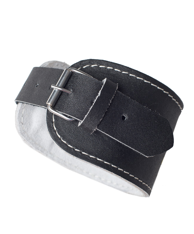 Workout Leather Ankle Cuff