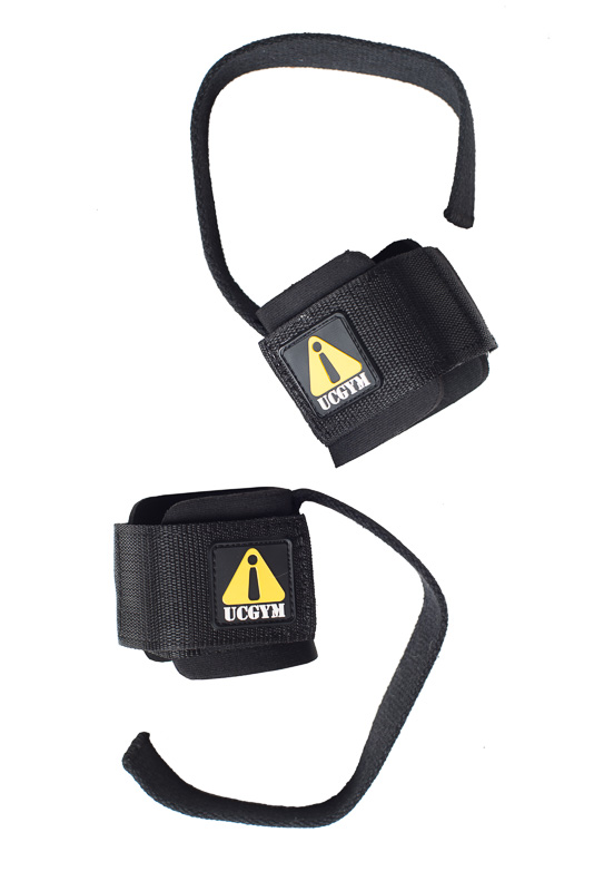 Lifting Straps with Wrist Wraps by UCGYM