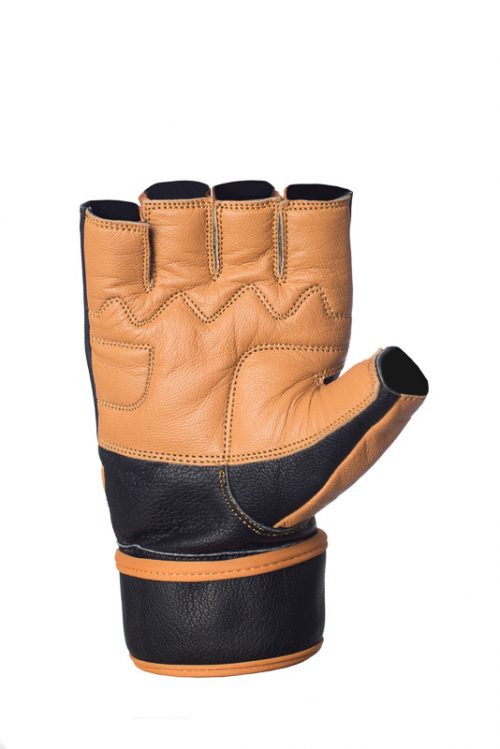 Leather Workout Gloves Power lift by Ucgym