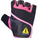 UCgym Power Lady - pink workout gloves for ladies