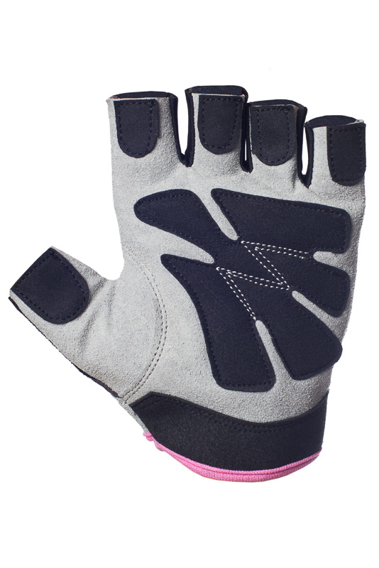 Pink workout gloves for women