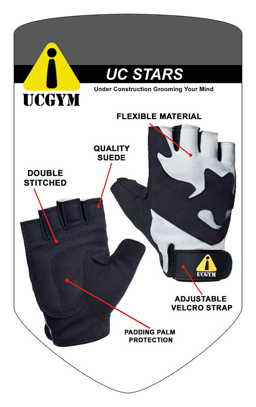 UC Starts women fitness gloves
