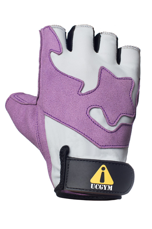 UCgym UC Stars Purple Girls Workout GlovesUCgym UC Stars Girls Workout Gloves