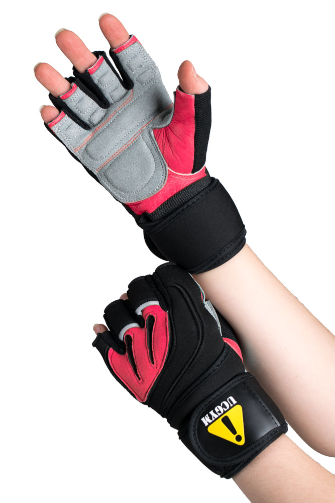 Best Women Workout Gloves with Wrist Wraps by UCGYM