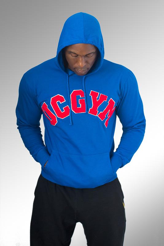805f099d UCgym Hoodies & Sweatshirts for Men - Blue Lightweight Hoodie