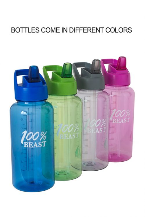 UCGYM Best Sports Bottle with Straw