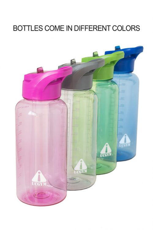 UCGYM Best Water Bottle with Straw and Handle