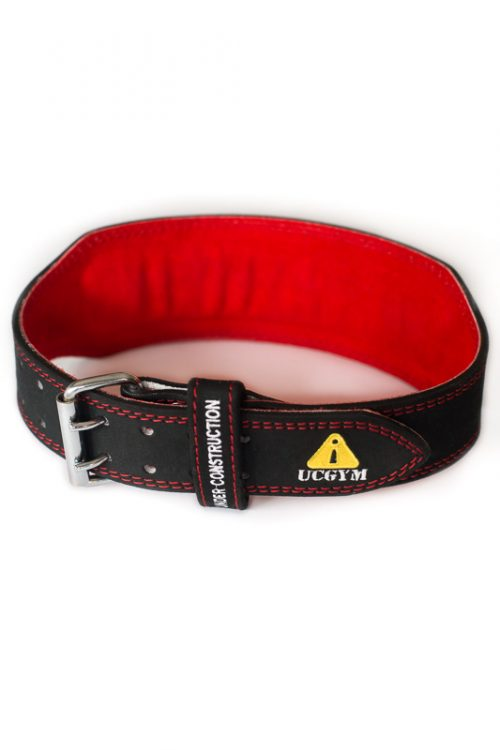 Ucgym leather lifting belt - 100% beast