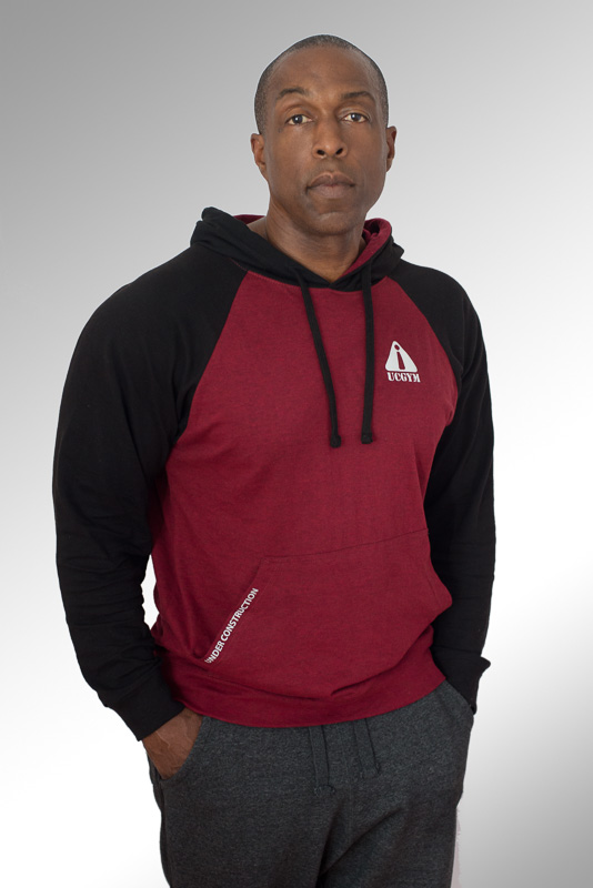 ucgym classic hoodie red