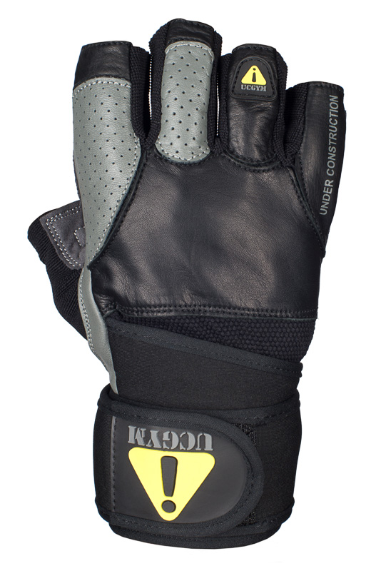 Ucgym workout gloves with wrist wraps