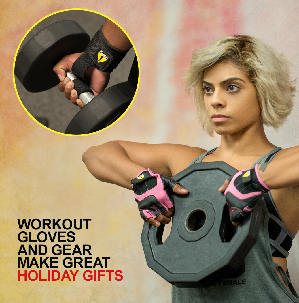 Workout gloves and Gear for Men and Women