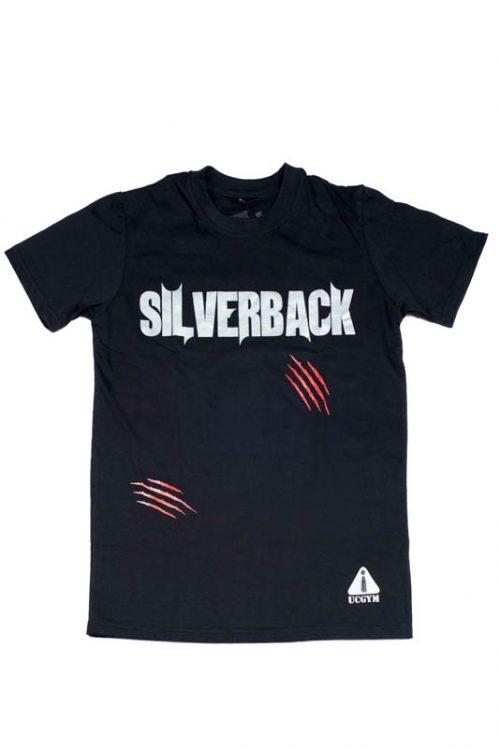 Ucgym Silverback T-shirt Black